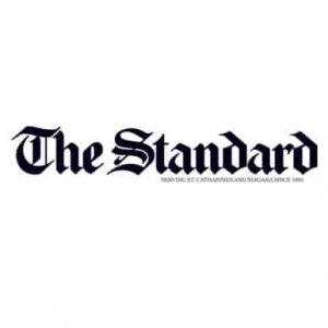 the standard logo